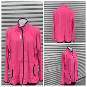 Reebok size 1X zip up sports jacket